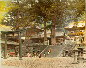 view Nikko: Entrance to Toshogu Shrine digital asset: Nikko: Entrance to Toshogu Shrine, [graphic]
