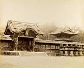 view Tokyo: Gate to Tokugawa Mausolea, Zojo-ji, Shiba, [ca. 1870s]. [graphic] digital asset number 1
