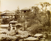 view Satake Garden, Mukojima, Tokyo [1860 - ca. 1900]. [graphic] digital asset number 1