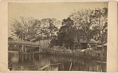 view [House and bridge], [1860 - 1900]. [graphic] digital asset number 1