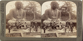 view (11) Majestic calm of the great bronze Buddha, reverenced for six centuries (facing S.W.), Kamakura, Japan, 1904 or earlier. [graphic] digital asset number 1