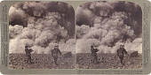 view (38) A sudden terrific volcanic explosion - smoke, steam and stones thrown from the crater of Asama-yama, Japan, [1903] [graphic] digital asset number 1