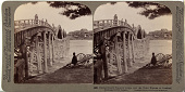 view (93) Extraordinary five-arch bridge over the Nishi Kigawa at Iwakuni, (looking north) Japan, 1904 or earlier. [graphic] digital asset number 1