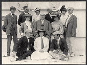 view William Taft's shipboard table companions aboard the SS Manchuria. 1905 digital asset number 1
