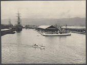 view Hawaii: Honolulu docks. 1905 digital asset number 1
