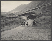 view Hawaii: Soldiers on horseback escorting carriages. 1905 digital asset number 1