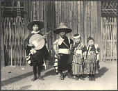 view Japanese street performers. 1905 digital asset number 1