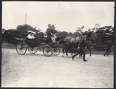 view Tokyo: Two Japanese ladies riding in a carriage. 1905 digital asset number 1