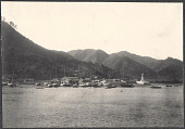 view Japanese fishing village. 1905 digital asset number 1