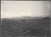 view Small boat off the Japanese coast. 1905 digital asset number 1