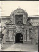 view Manila: Carlos V gate, Fort Santiago, Intramuros digital asset: Manila: Carlos V gate, Fort Santiago, Intramuros