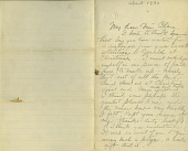 view The Brumbaugh Collection of Artist Letters, 1831-1979 digital asset number 1