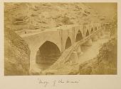 view Arpee Album: Photograph of Manjil Bridge, on Road from Qazvin to Tehran (Iran) digital asset: Arpee Album: Photograph of Manjil Bridge, on Road from Qazvin to Tehran (Iran) [graphic]