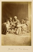view Arpee Album: Photograph of Group of Men Smoking Opium digital asset: Arpee Album: Photograph of Group of Men Smoking Opium [graphic]
