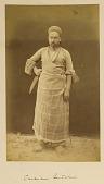 view Arpee Album: Photograph of a Butcher digital asset: Arpee Album: Photograph of a Butcher [graphic]