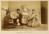view Arpee Album: Photograph of Musicians and Dancer [graphic] digital asset number 1