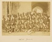 view Arpee Album: Photograph of Government Gendarmerie (Zandarmeri-e dawlati) [graphic] digital asset number 1