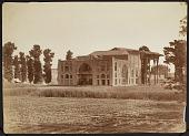 view Photograph of Ayina-khana (Hall of Mirrors), Isfahan (Iran) digital asset: Photograph of Ayina-khana (Hall of Mirrors), Isfahan (Iran) [graphic]