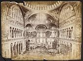 view [Istanbul (Turkey): Photograph of Inside the Hagia Sofia Basilica] digital asset: [Istanbul (Turkey): Photograph of Inside the Hagia Sofia Basilica] [graphic]
