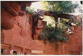 view Detail of Babur's large stone well, Lotus Garden, Dholpur, India, 1978 digital asset number 1
