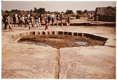 view Lotus-shaped pool in Dholpur, India 1978 digital asset number 1