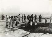 view Unearthing Babur's scalloped octagonal pool, Dholpur, India, 1978 digital asset number 1
