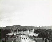 view View of Pinjore Garden from the upper terraces digital asset: View of Pinjore Garden from the upper terraces