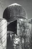 view Elaborate dome of Timur's Mosque, Samarkand, Uzbekistan, 1978 digital asset number 1