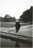 view Elizabeth Moynihan at the Garden of Ram Bagh, Agra, India digital asset: Elizabeth Moynihan at the Garden of Ram Bagh, Agra, India