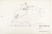view Site Plan of Babur's Lotus Garden at Dhalpur, Rajasthan [Located to Map Case Drawer 65] digital asset: Site plan of Babur's Lotus Garden at Dholpur, Rajasthan. [drawing]