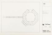 view Well Plan, Babur's Lotus Garden, Dholpur, 1985 [Located to Map Case Drawer 65] digital asset: Well plan, Babur's Lotus Garden, Dholpur, 1985. [drawing]