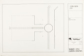 view Open Bath Plan, Babur's Lotus Garden, Dholpur, 1985 [Located to Map Case Drawer 65] digital asset: Open bath plan, Babur's Lotus Garden, Dholpur, 1985. [drawing]