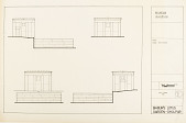 view Hamam Elevations, Babur's Lotus Garden, Dholpur, 1985 [Located to Map Case Drawer 65] digital asset: Hamam elevations, Babur's Lotus Garden, Dholpur, 1985. [drawing]