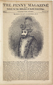 view The Mogul Dynasty in Hindustan. No. II. Image of Baber. The Penny Magazine of the Society for the Difffusion of Useful Knowledge, #468, p. 273. July 20, 1839 digital asset number 1