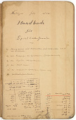 view Fritz Rumpf Notebooks, circa 1914-1930s digital asset number 1