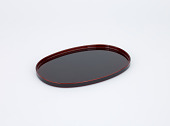 view Lacquer oblong trays (set of five) digital asset number 1