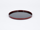 view Lacquer tray (kayoi bon) used to serve the main kaiseki guest digital asset number 1