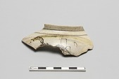 "view Shoulder of teapot, fragment; ""landscape teapot"" digital asset number 1"