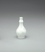 view Vase with white crystalline glaze digital asset number 1