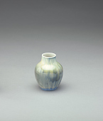 view Vase with gray-green-blue glaze digital asset number 1