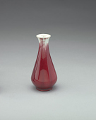view Vase with copper-red glaze digital asset number 1
