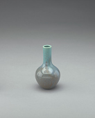 view Vase with blue glaze digital asset number 1