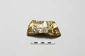 view Fragmentary side of a vessel with animal designs digital asset number 1