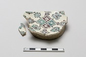 view Fragmentary base of a bowl digital asset number 1