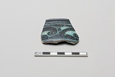 view Fragment of a vessel with floral design digital asset number 1