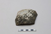 view Fragment of shoulder of Double-F vessel with yang pattern digital asset number 1