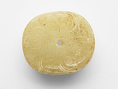 view Pendant in the form of an oval disk with human hybrids digital asset number 1