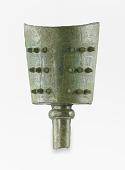 view Hollow shaft bell (<em>nao</em>) with spirals digital asset number 1