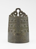 view One of a set of bells (<em>bo</em>) with felines and dragons digital asset number 1