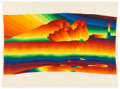 view From the dictionary 7, from the series, <em>Rainbow Passes Slowly</em> digital asset number 1